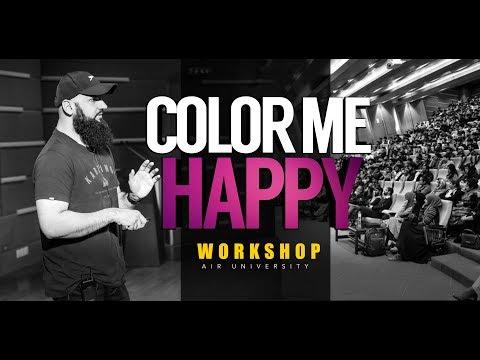 COLOR ME HAPPY [Mini Version] - Workshop by Raja Zia ul Haq