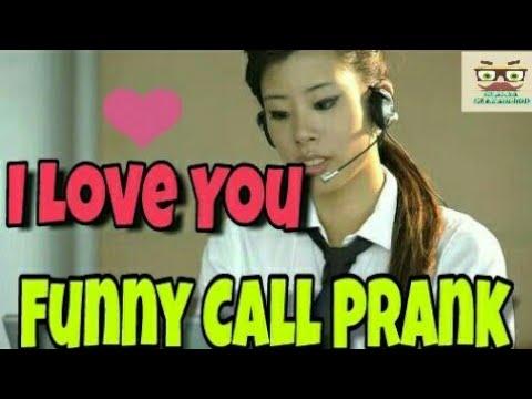 I Love You    Funny Call Prank Part 2    Customer Care Funny Call    Chacha Chanakchod   