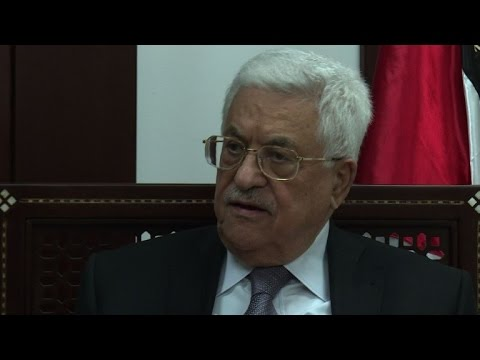 Abbas says 'urgent' need for UN resolution on Israeli settlement