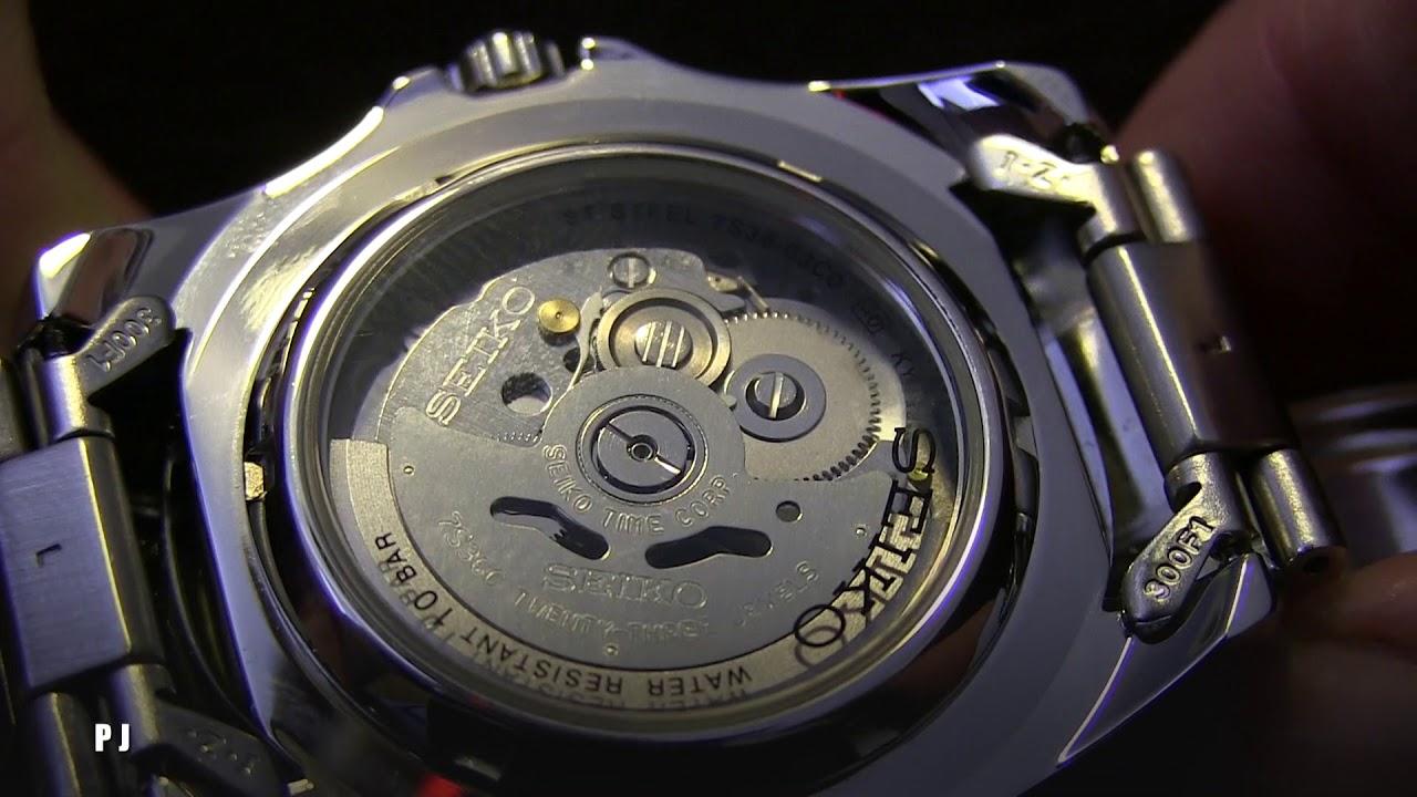 Seiko 5 Automatic Mechanical Watch Movement 7S36