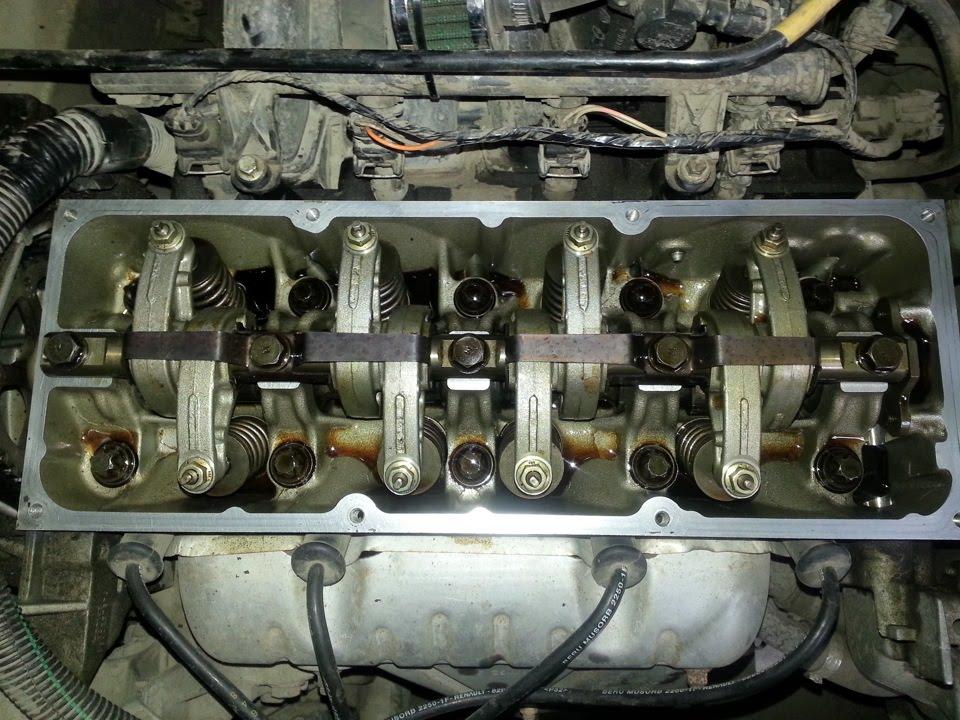 Двигатель логана 1.6 ремонт своими руками