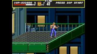 Streets of Rage - Streets of Rage (Genesis) - Gameplay - Round 7 and Game Over at Round 8 (early) - User video