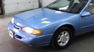 DustyOldCars.com 1994 Ford Thunderbird Blue SN 1200