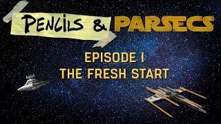 Star Wars RPG: Pencils & Parsecs – Premiere
