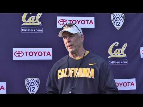 Cal Football: Spring Practice DC Art Kaufman 3/18/16