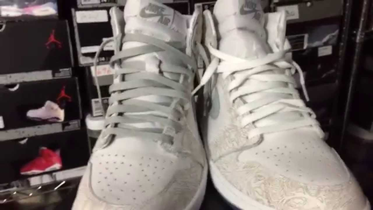 18a6de8920783d Jordan Retro 1 Laser S O to  Highlyfavored ant - YouTube