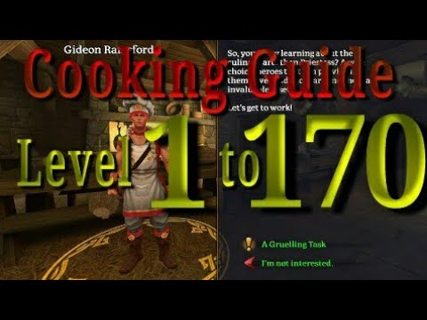 Celtic heroes cooking guide level 1 to 170