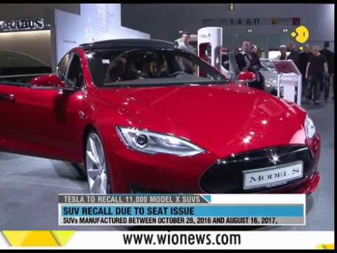 WION Wallet: Tesla to recall 11,000 model X SUVS