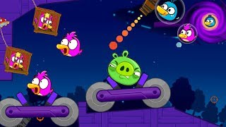 Angry Birds Collection Hacked 4 - RESCUE TEAM BIRDS AFTER BLAST PIGGIES INSIDE BLACK HOLE!