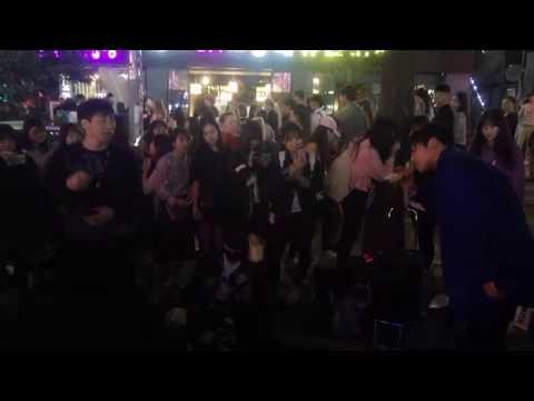 [161001] DOB (디오비) 홍대공연 Hongdae 📢 Just Another Boy - IKON 🔥