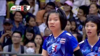 ไฮไลท์วอลเลย์บอลหญิง U19 ชิงแชมป์เอเชีย | รอบรองชนะเลิศ | ไทย - จีน