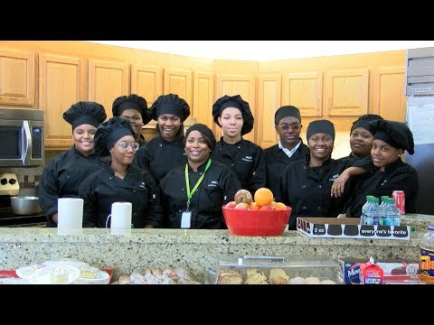CMSD culinary students volunteer at Ronald McDonald House of Cleveland