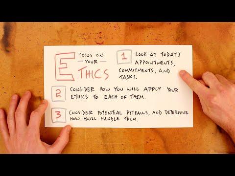 Establishing Your Code Of Ethics