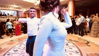 Лезгинка на свадьбе Аскера и Анетты часть 2