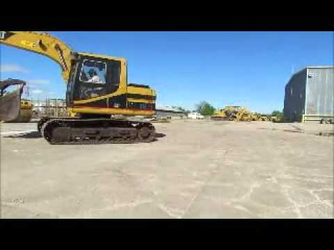 For Sale Caterpillar 312 Hydraulic Excavator A/C Cab 2-Buckets bidadoo.com