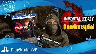 Immortal Legacy: The Jade Cipher (EU) /  Playstation VR / PSVR /Gewinnspiel / deutsch