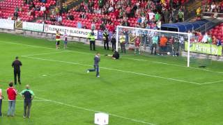 Cork City fans penalty shootout