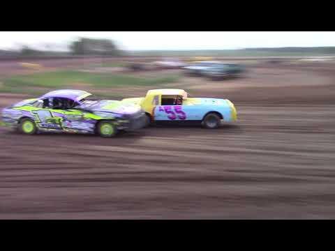 """Salina Speedway Coors Light IMCA Stock Cars """"Heat races"""" 7-27-18"""