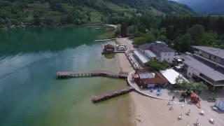 Lago di Caldonazzo la spiaggia