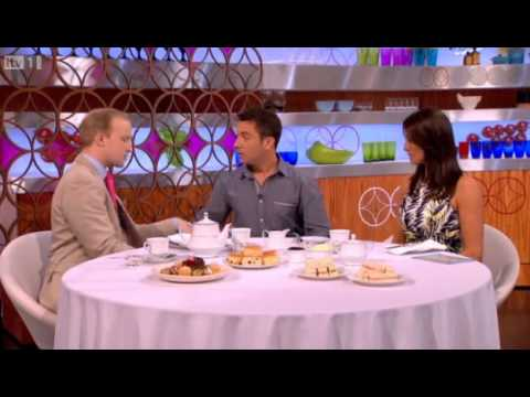 Etiquette expert William Hanson gives Gino & Mel an afternoon tea etiquette lesson
