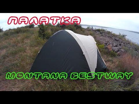 Палатка туристическая 4-х местная MONTANA Bestway. Краткий обзор и установка
