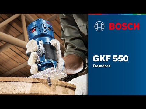 Видео обзор: Фрезер BOSCH GKF 550