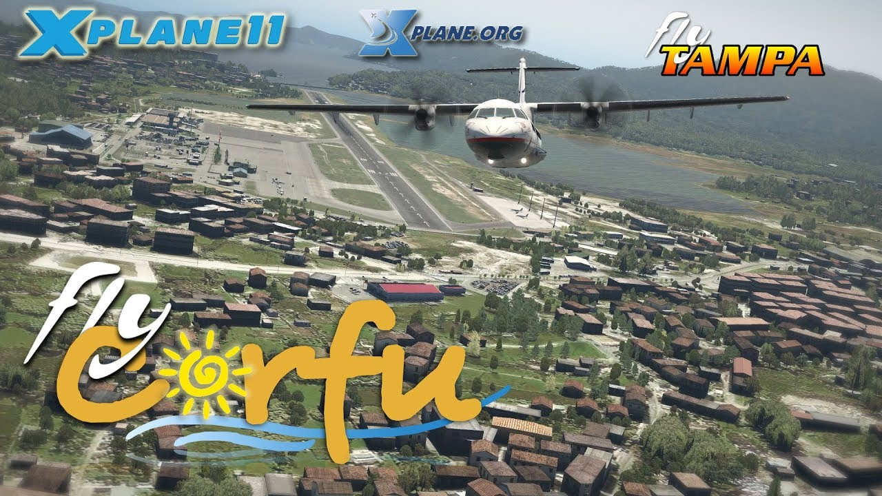 FlyTampa Corfu for X-plane 11 by Thomas Rasmussen
