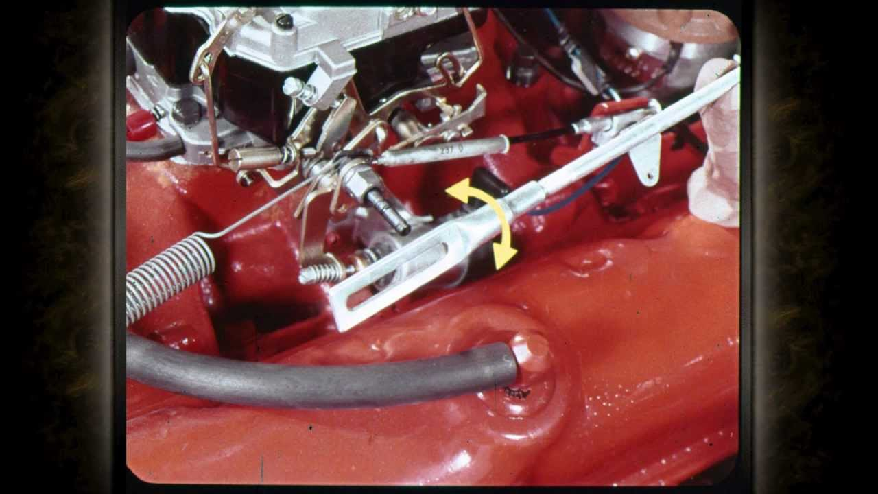 1971 Volume 712 Shift Quality and Linkage Adjustment