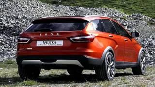 видео Отечественные универсалы Lada Vesta SW и Vesta SW Cross появятся осенью (фото)