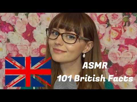 ASMR ~101 British facts *Softly Spoken*