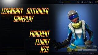 FRAGMENT FLURRY JESS: Fortnite Legendary Outlander Gameplay