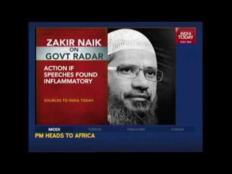 Indian Govt To Examine Speeches Of Islamic Preacher, Zakir Naik