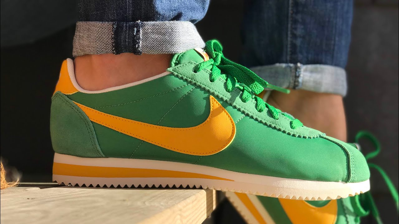 separation shoes 43d0c d0f1e Nike Classic Cortez Women s  Oregon  - THE ON-FOOT SNEAKER LOOK WITH SJ