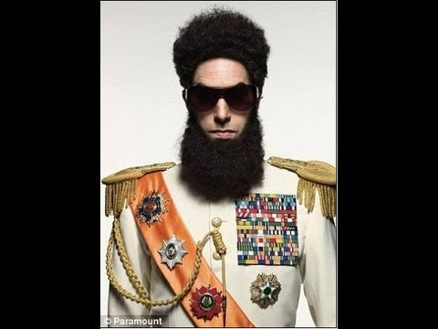 Sacha Baron Cohen Allowed To Be The Dictator At The 2012 Oscars