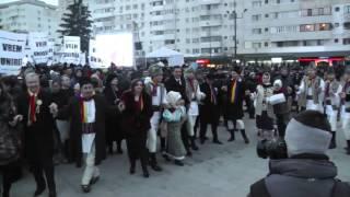Hora Unirii la Focsani de Ziua Unirii 2014 VRANCEA MEDIA