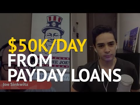 How Joe Sinkwitz Ranked #1 For Payday Loans And Brought in $50k/day