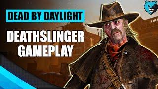 Playing Deathslinger in DBD | Dead by Daylight Deathslinger Killer Gameplay