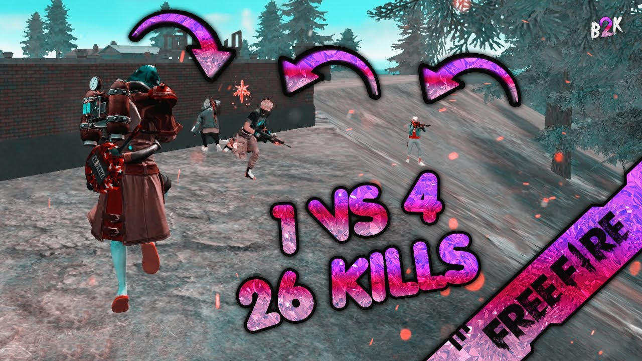 [B2K] WATCH AND LEARN THE KING IS HERE | 26 KILLS