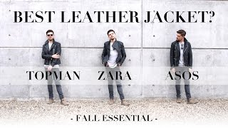 The Best Leather Jacket | Brand Battle