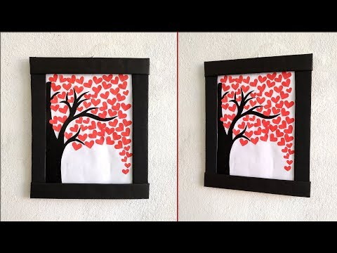 DIY wall decoration ideas// How to decorate your home easily// DIY paper crafts