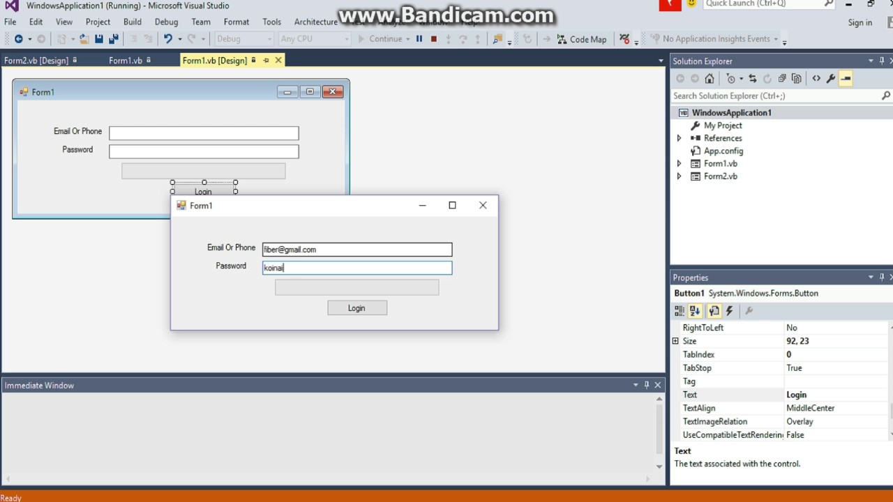 How To Create Facebook Login Form Visual Basic 2010