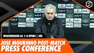 Wolfsberger AC 1-4 Tottenham | Jose Mourinho post-match press conference | Europa League