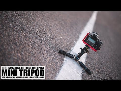 Cheap Mini Tripod For DSLR, Mirrorless And Mobile Photographers