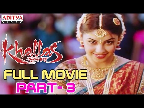 Khallas Hindi Movie Part 3/12 Raviteja, Richa Gangopadhay, Deeksha Seth