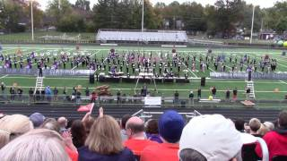 Larry A. Ryle High School Band at 2015 AAAAA East Regionals