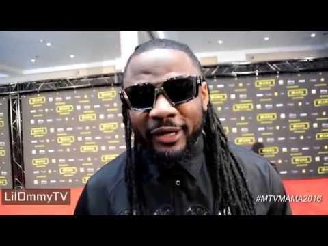 RedCarpet ya MTVMAMA2016 Diamond, Ali Kiba, Yemi Alade, Mohombi, Patoranking na wengine kibao.
