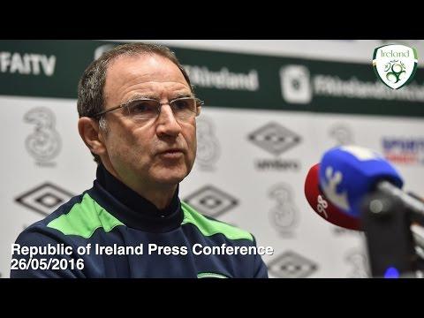 Republic of Ireland Press Conference 26/03/2016