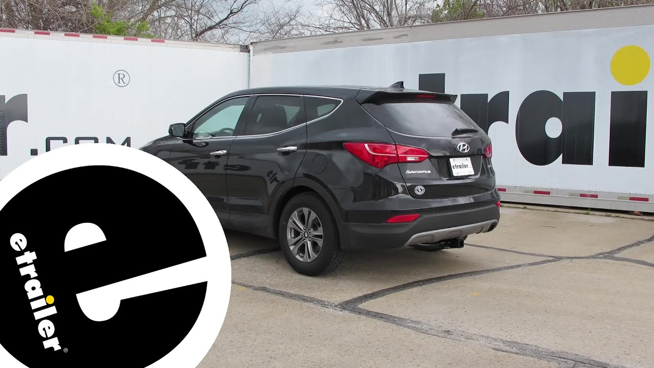 maxresdefault installation of a trailer hitch on a 2016 hyundai santa fe  at bayanpartner.co