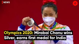 Tokyo Olympics 2020: Weightlifter Mirabai Chanu Wins Silver, Earns First Medal For India