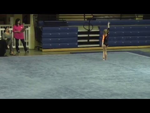 Madi Leary - Level 5 Floor - 2016 KPAC Cup & Elite Qualifier - 03/11